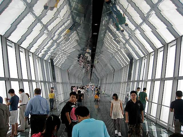 Inside The Shanghai World Financial Centre Observatory