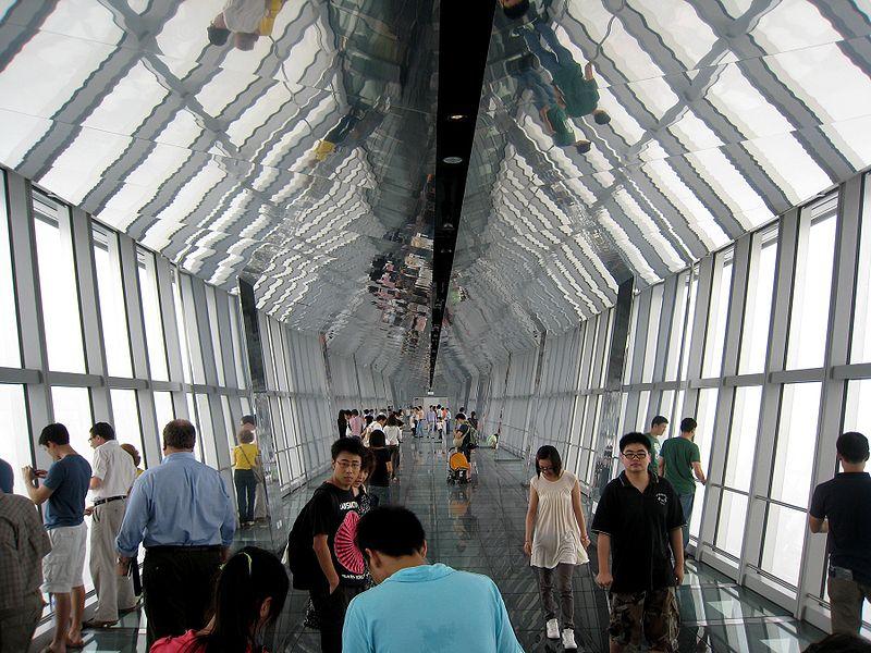 100 Floor Building Elevator